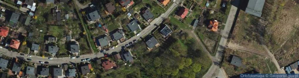 Zdjęcie satelitarne Garnizonowa ul.