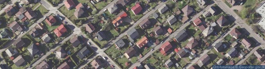 Zdjęcie satelitarne Galla Anonima ul.