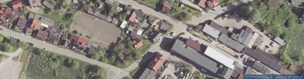 Zdjęcie satelitarne Garbarska ul.