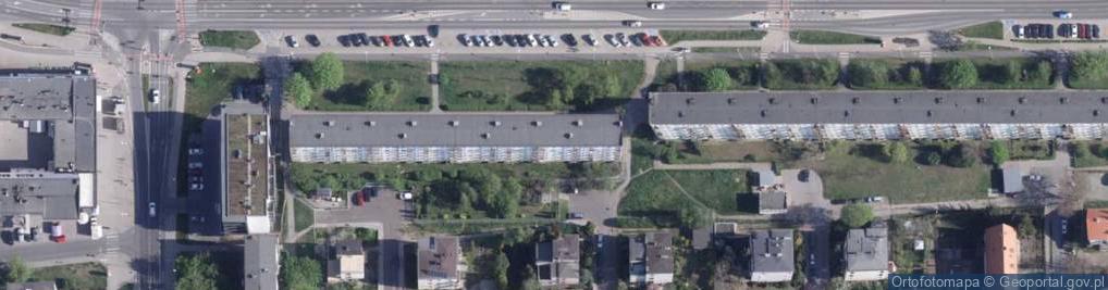 Zdjęcie satelitarne Gagarina Jurija ul.