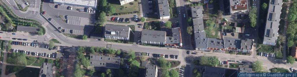Zdjęcie satelitarne Gałczyńskiego Konstantego Ildefonsa ul.