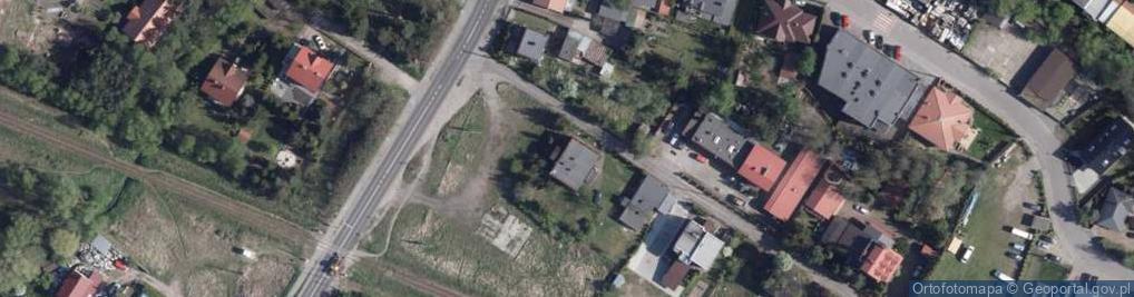 Zdjęcie satelitarne Gawędy ul.