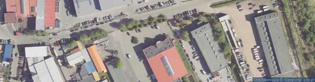 Zdjęcie satelitarne Gdyńska ul.