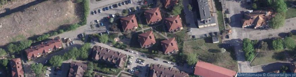 Zdjęcie satelitarne Gerwazego ul.