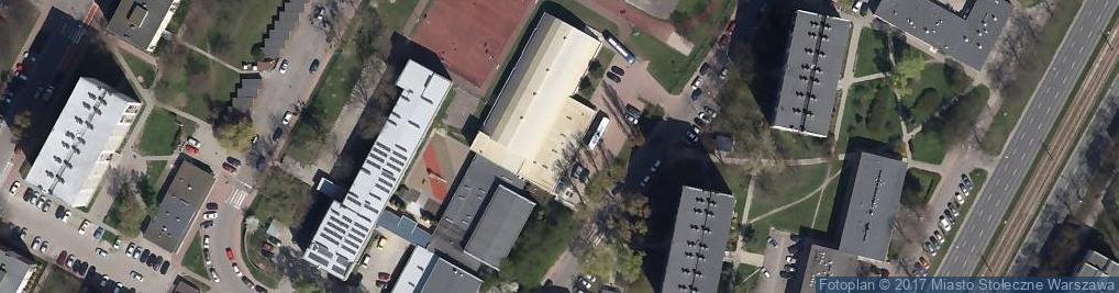 Zdjęcie satelitarne Geodetów ul.