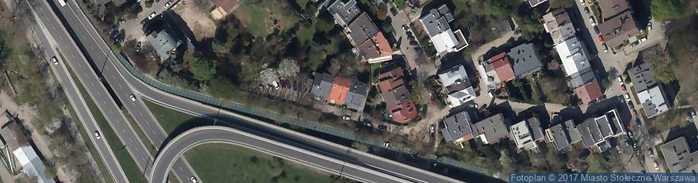 Zdjęcie satelitarne Genewska ul.