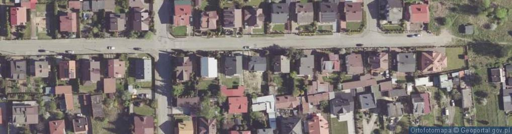 Zdjęcie satelitarne Gielniowska ul.