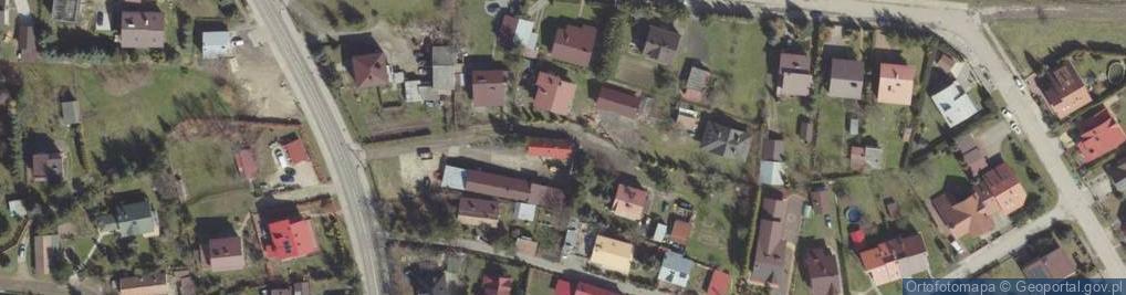 Zdjęcie satelitarne Gierymskich Aleksandra i Maksymiliana ul.