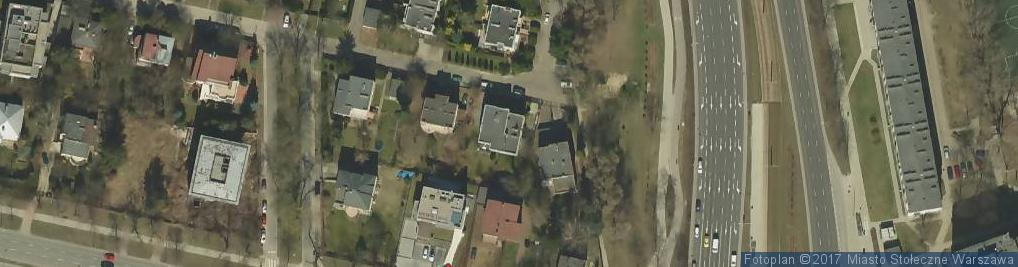 Zdjęcie satelitarne Gimnastyczna ul.