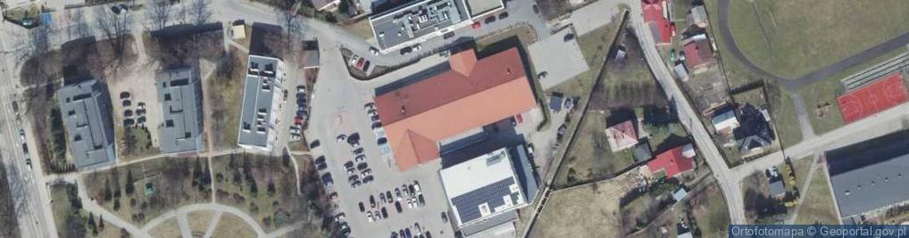 Zdjęcie satelitarne Głowackiego ul.