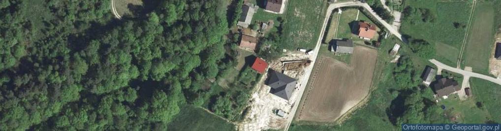 Zdjęcie satelitarne Głogoczów ul.