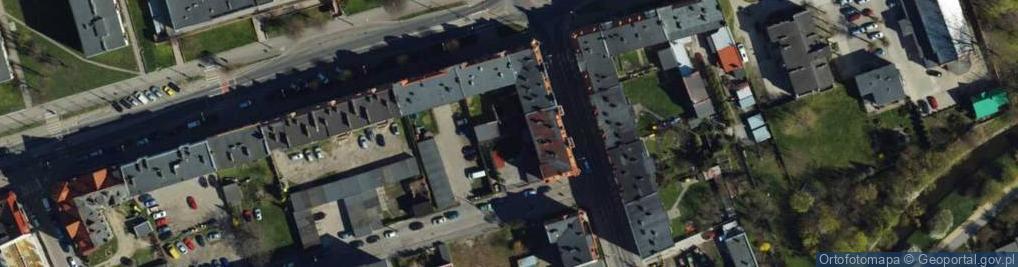 Zdjęcie satelitarne Głowackiego Bartosza ul.