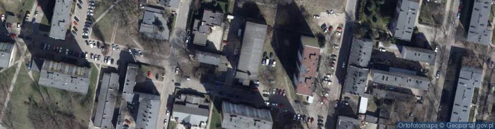 Zdjęcie satelitarne Głucha ul.