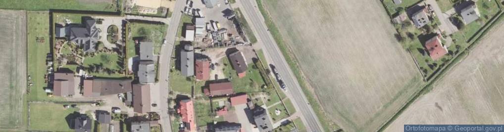 Zdjęcie satelitarne Gliwicka ul.