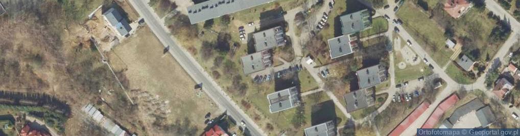Zdjęcie satelitarne Glazera Jakuba, bp. ul.