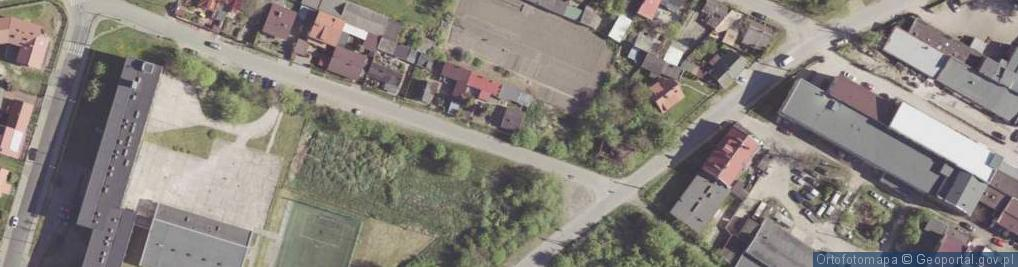 Zdjęcie satelitarne Gliniana ul.