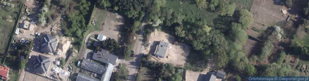 Zdjęcie satelitarne Gliniecka ul.
