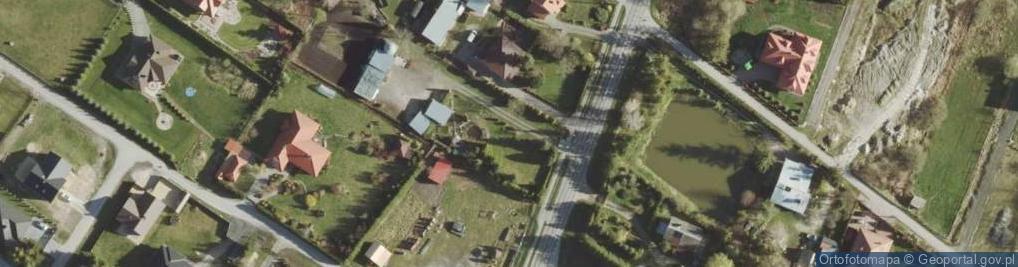Zdjęcie satelitarne Gminna ul.