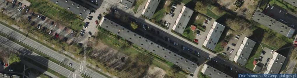 Zdjęcie satelitarne Gniewska ul.