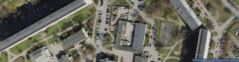 Zdjęcie satelitarne Gospody ul.