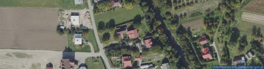 Zdjęcie satelitarne Gorliczyna ul.