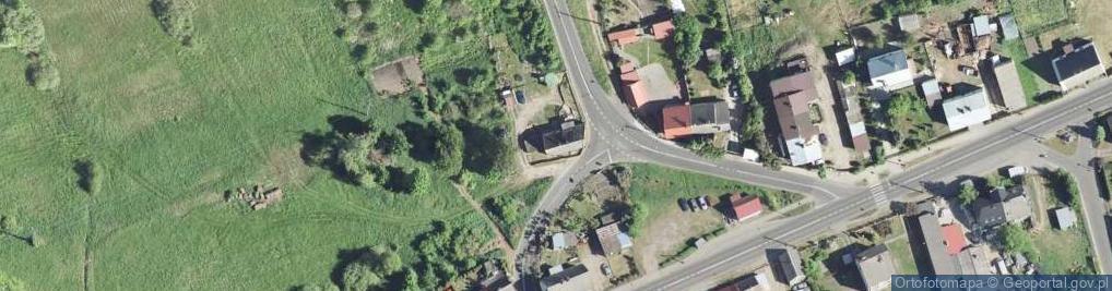 Zdjęcie satelitarne Gorzeń ul.