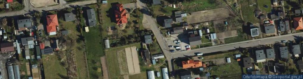 Zdjęcie satelitarne Goździkowa ul.