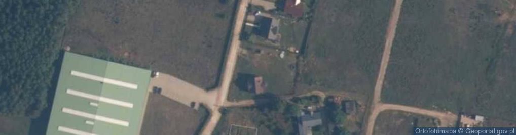 Zdjęcie satelitarne Gospodarska ul.