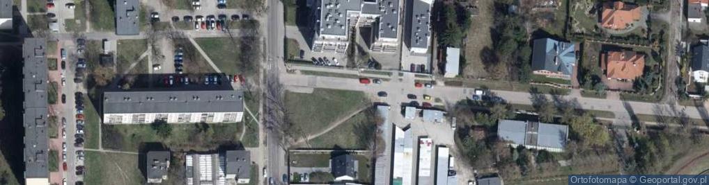 Zdjęcie satelitarne Górnicza ul.