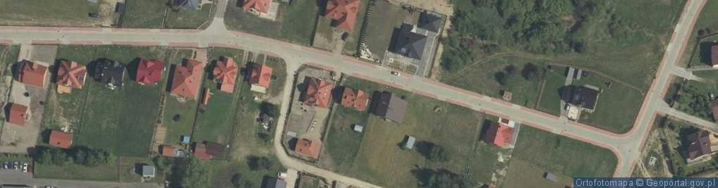 Zdjęcie satelitarne Gołuchowskiego Agenora ul.