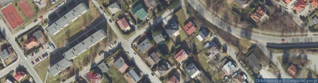 Zdjęcie satelitarne Gościnna ul.