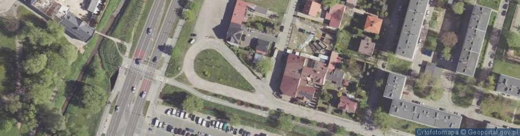 Zdjęcie satelitarne Gomulickiego Wiktora ul.