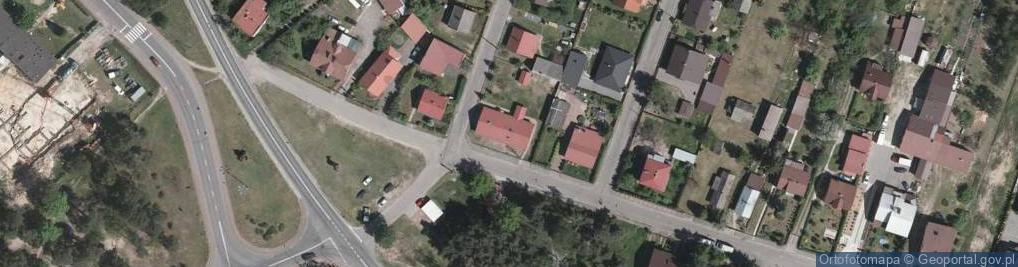 Zdjęcie satelitarne Górka ul.