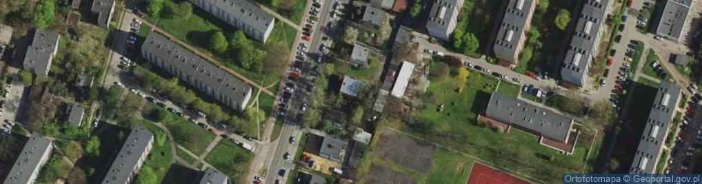 Zdjęcie satelitarne Gospodarcza ul.