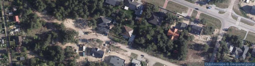 Zdjęcie satelitarne Golubska ul.