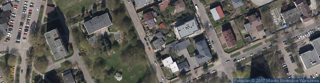 Zdjęcie satelitarne Goworowska ul.