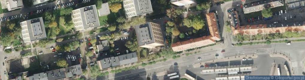Zdjęcie satelitarne Goethego Johanna ul.