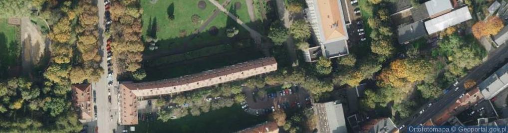 Zdjęcie satelitarne Góry Świętej Anny ul.