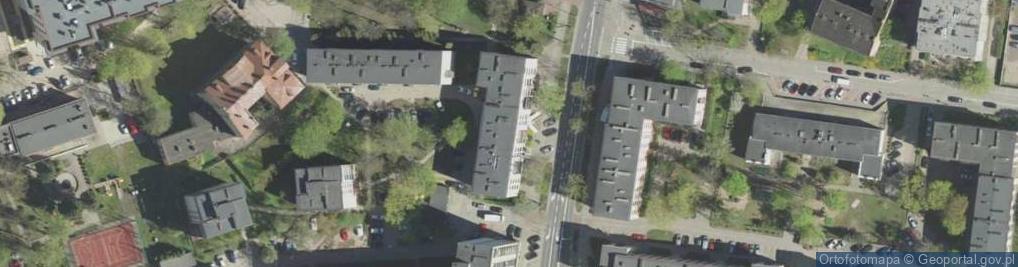 Zdjęcie satelitarne Grochowa ul.