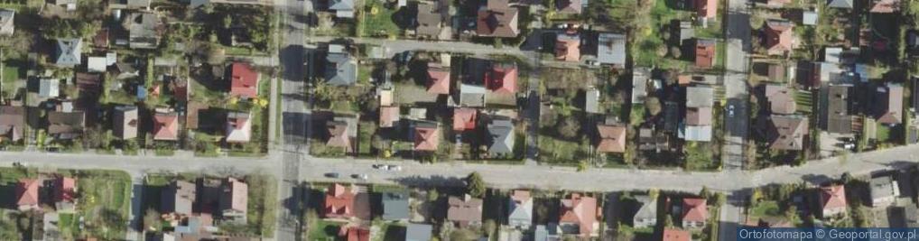 Zdjęcie satelitarne Grunwaldzka ul.