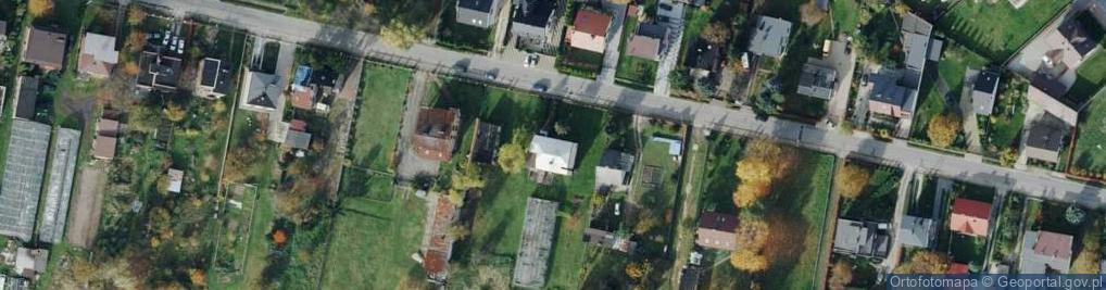 Zdjęcie satelitarne Gruszowa ul.