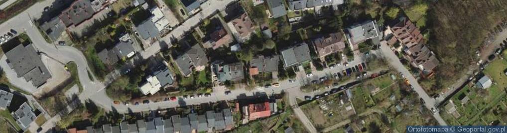 Zdjęcie satelitarne Grodnieńska ul.