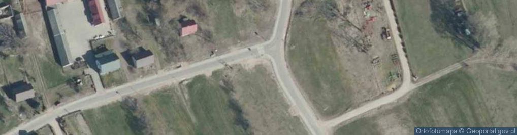 Zdjęcie satelitarne Grądy Wielkie ul.
