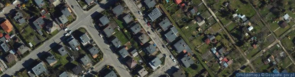 Zdjęcie satelitarne Gromady Grudziąż ul.