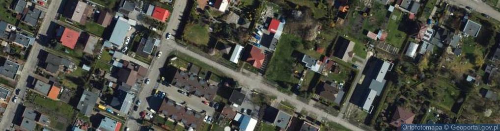 Zdjęcie satelitarne Gryfa Pomorskiego ul.