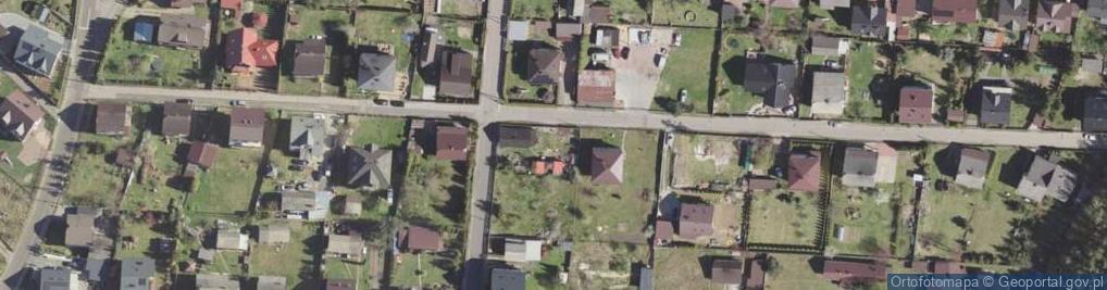 Zdjęcie satelitarne Grabańka ul.