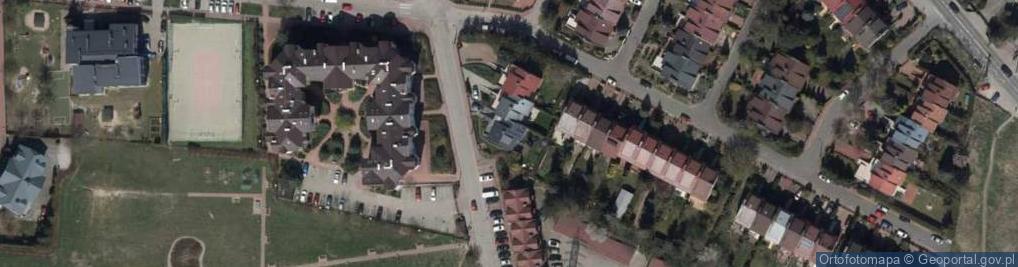 Zdjęcie satelitarne Granitowa ul.