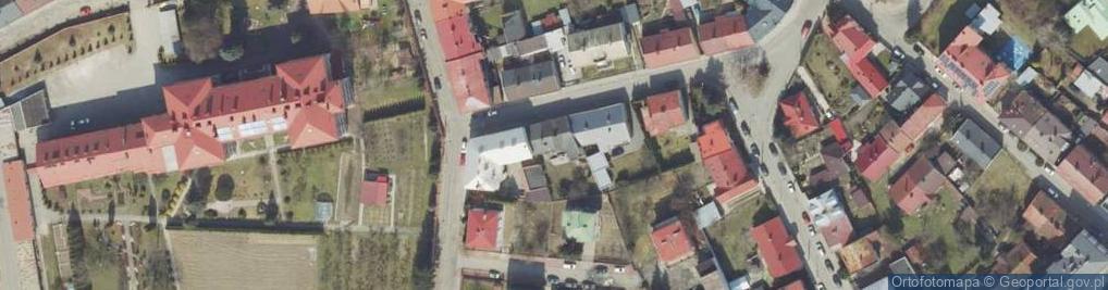 Zdjęcie satelitarne Grzegorza z Sanoka ul.