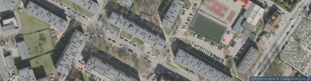 Zdjęcie satelitarne Grodzka ul.
