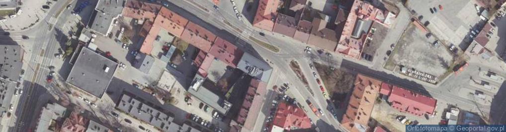 Zdjęcie satelitarne Grottgera Artura ul.